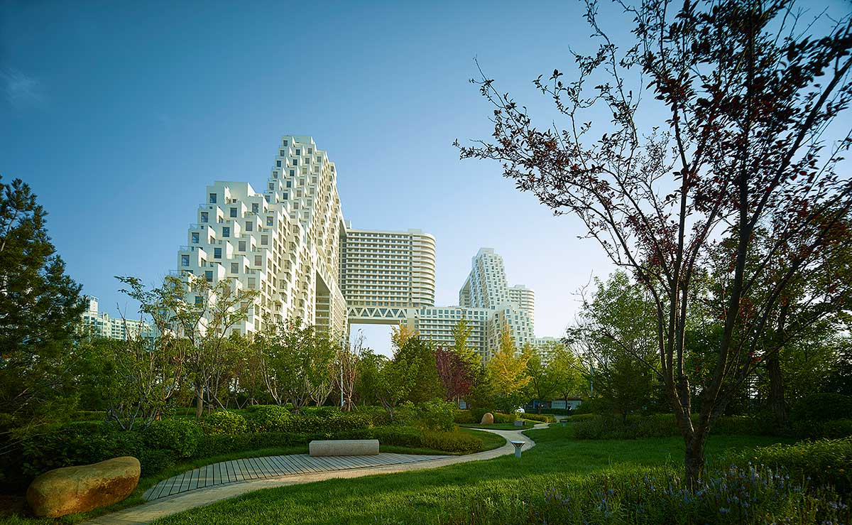 طراحی مجتمع مسکونی ساحلی