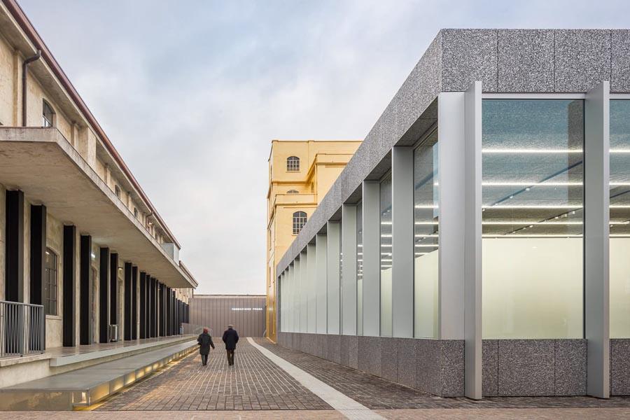 راز پنهان معماری بناها : مرکز فرهنگی Fondazione Prada اثر شرکت معماری OMA