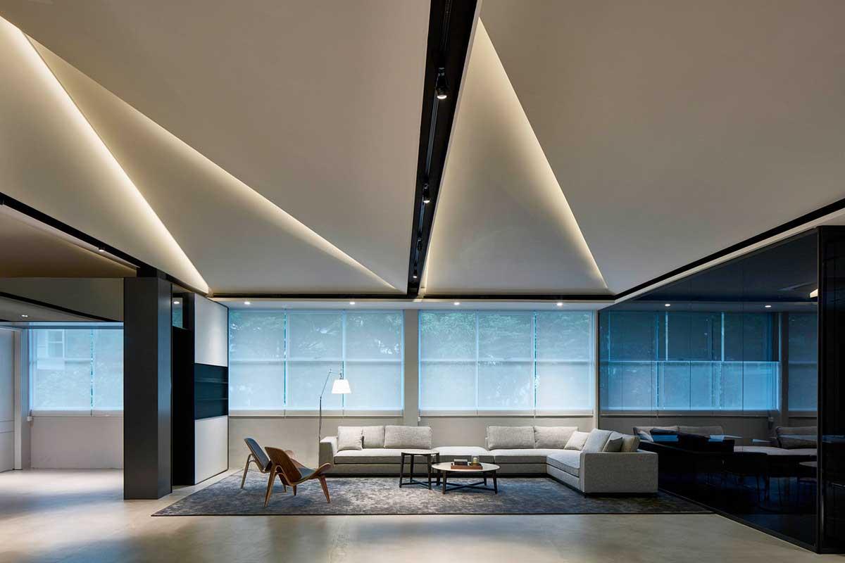 بررسی طراحی داخلی یک واحد اداری برای مجتمع مسکونی