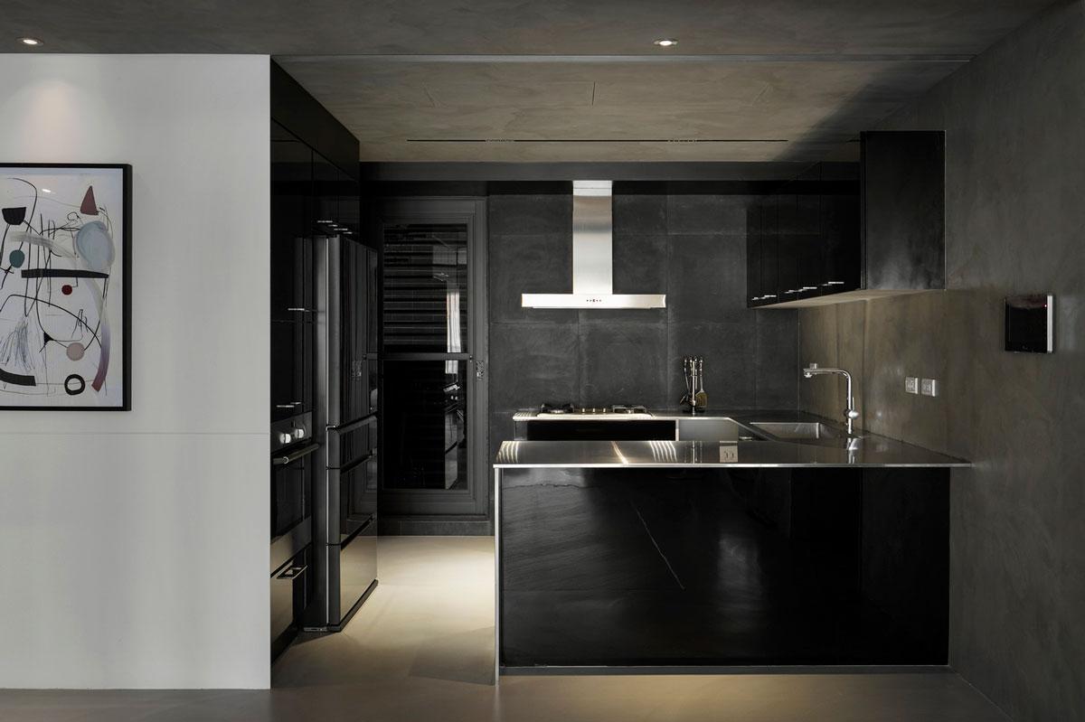 طراحی آشپزخانه ترکیب سبک شرقی و غربی