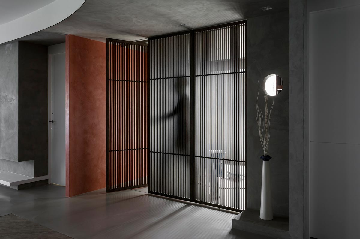 طراحی خانه با ترکیب سبک شرقی غربی