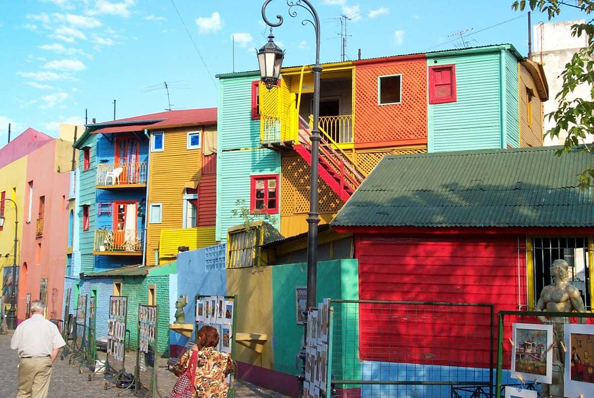 شهرهای رنگارنگ دنیا