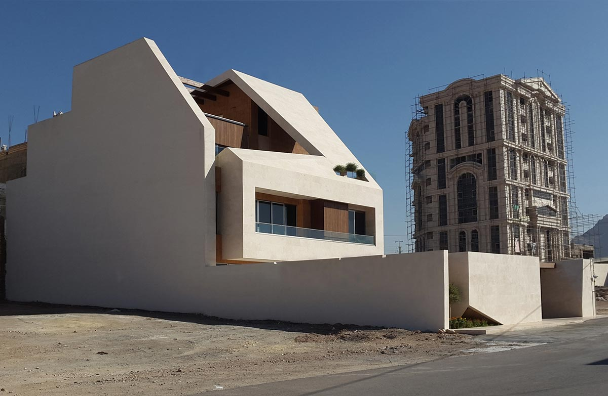 طراحی نمای خانه