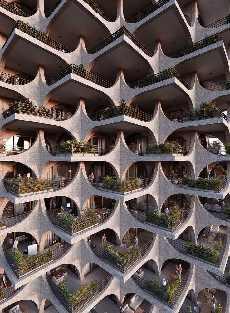 طراحی تراس مجتمع مسکونی
