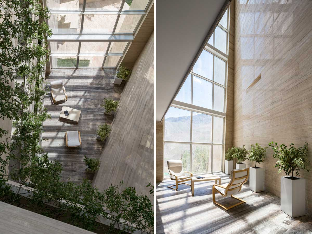 طراحی داخلی ساختمان مسکونی میگون