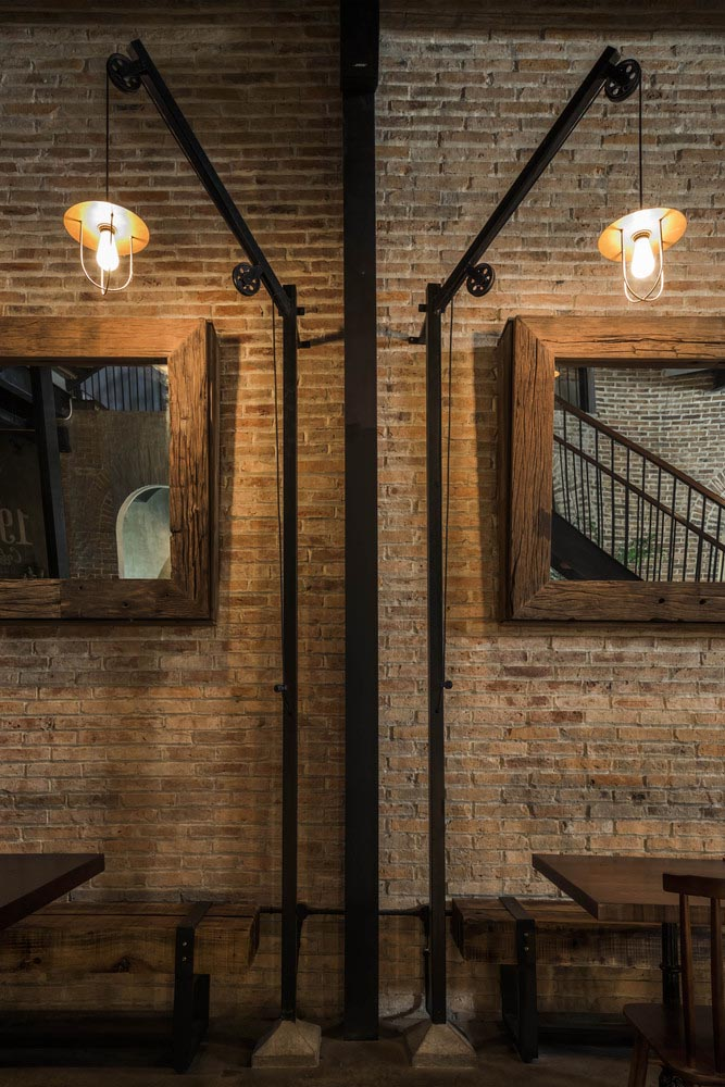 طراحی روشنایی رستوران