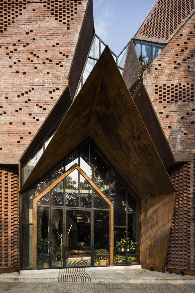 طراحی نمای بیرونی رستوران