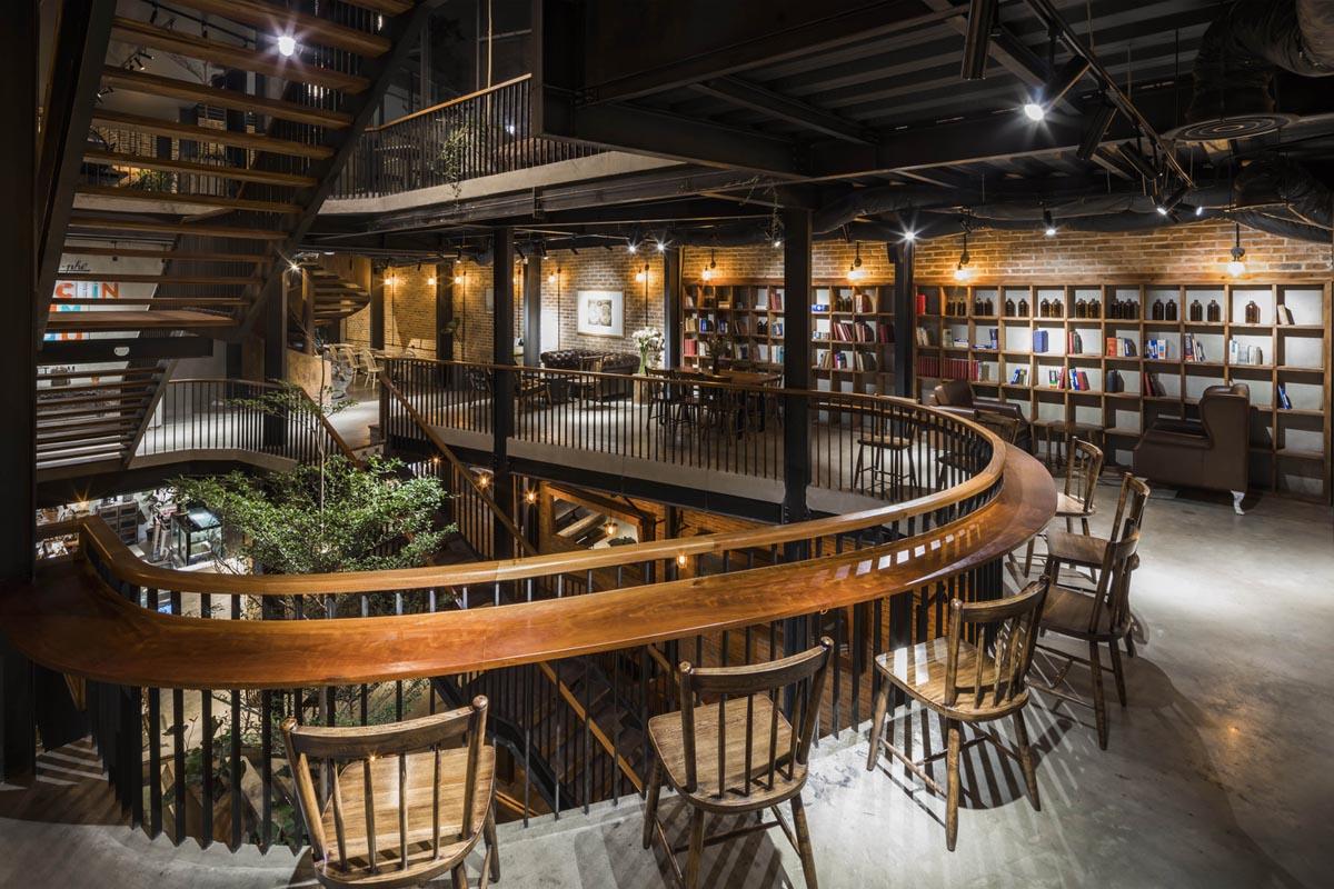 طراحی رستوران چند طبقه
