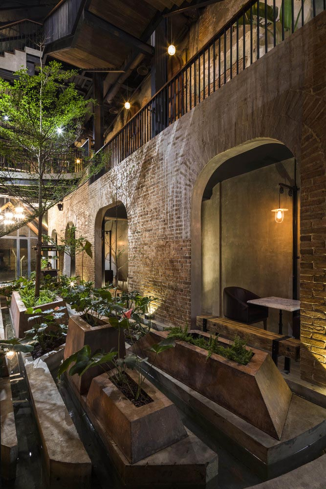 استفاده از گیاهان در طراحی رستوران