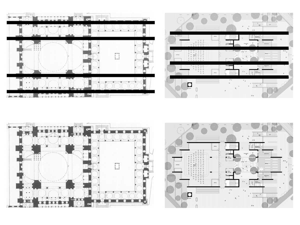 پلان مسجد