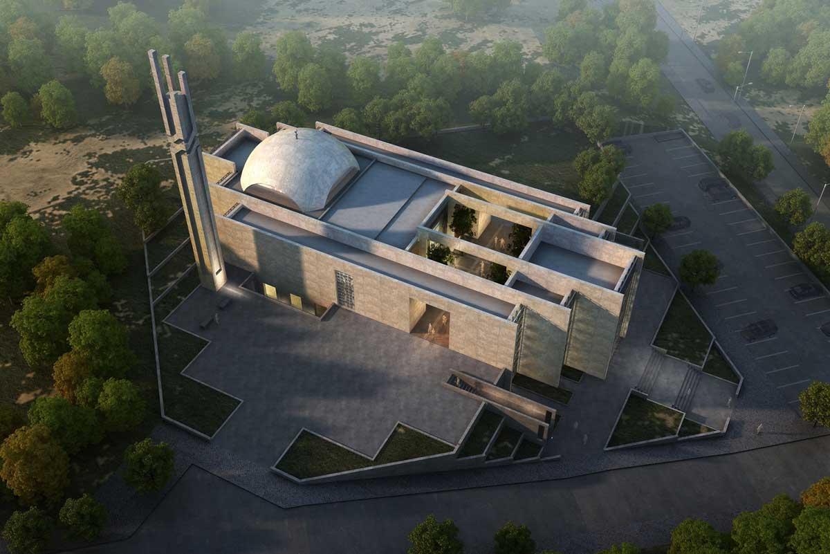 مسجد مدرن