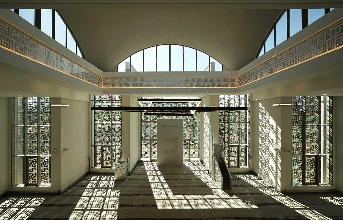 طراحی مسجد مدرن