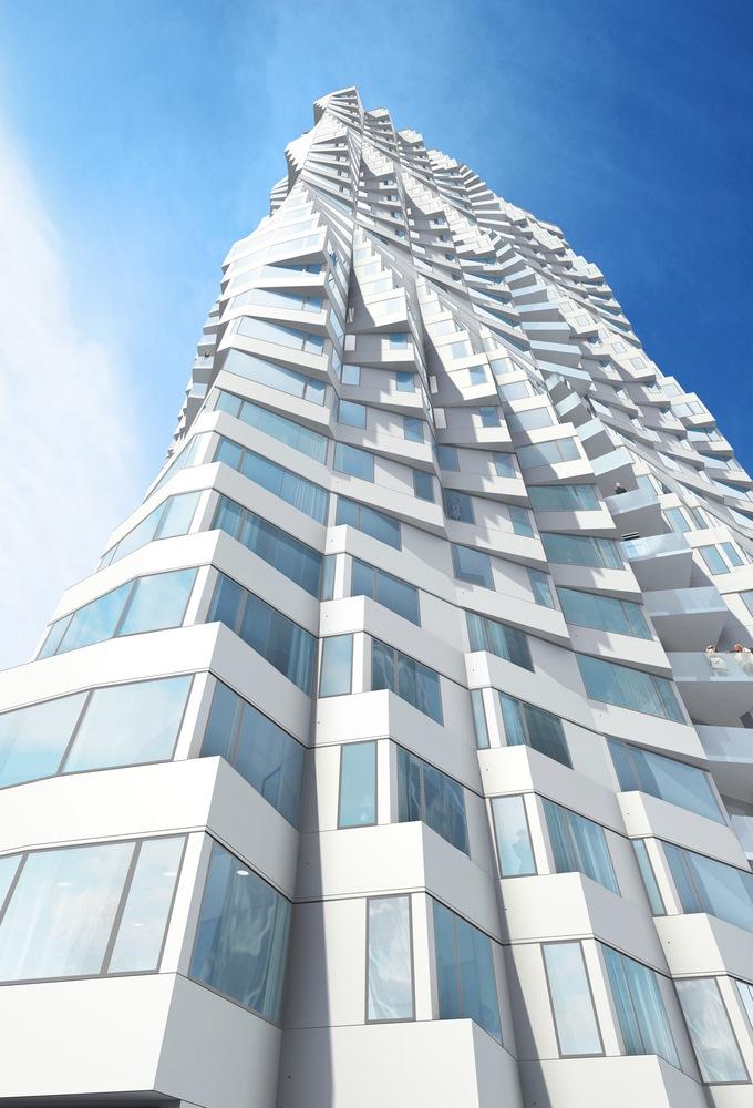 طراحی مدرن نما ساختمان