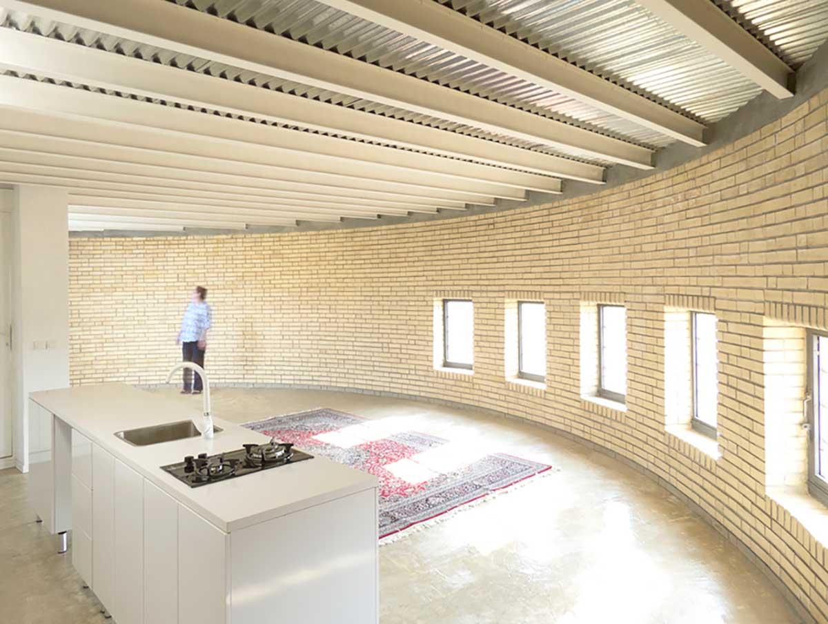 طراحی خانه حلزونی