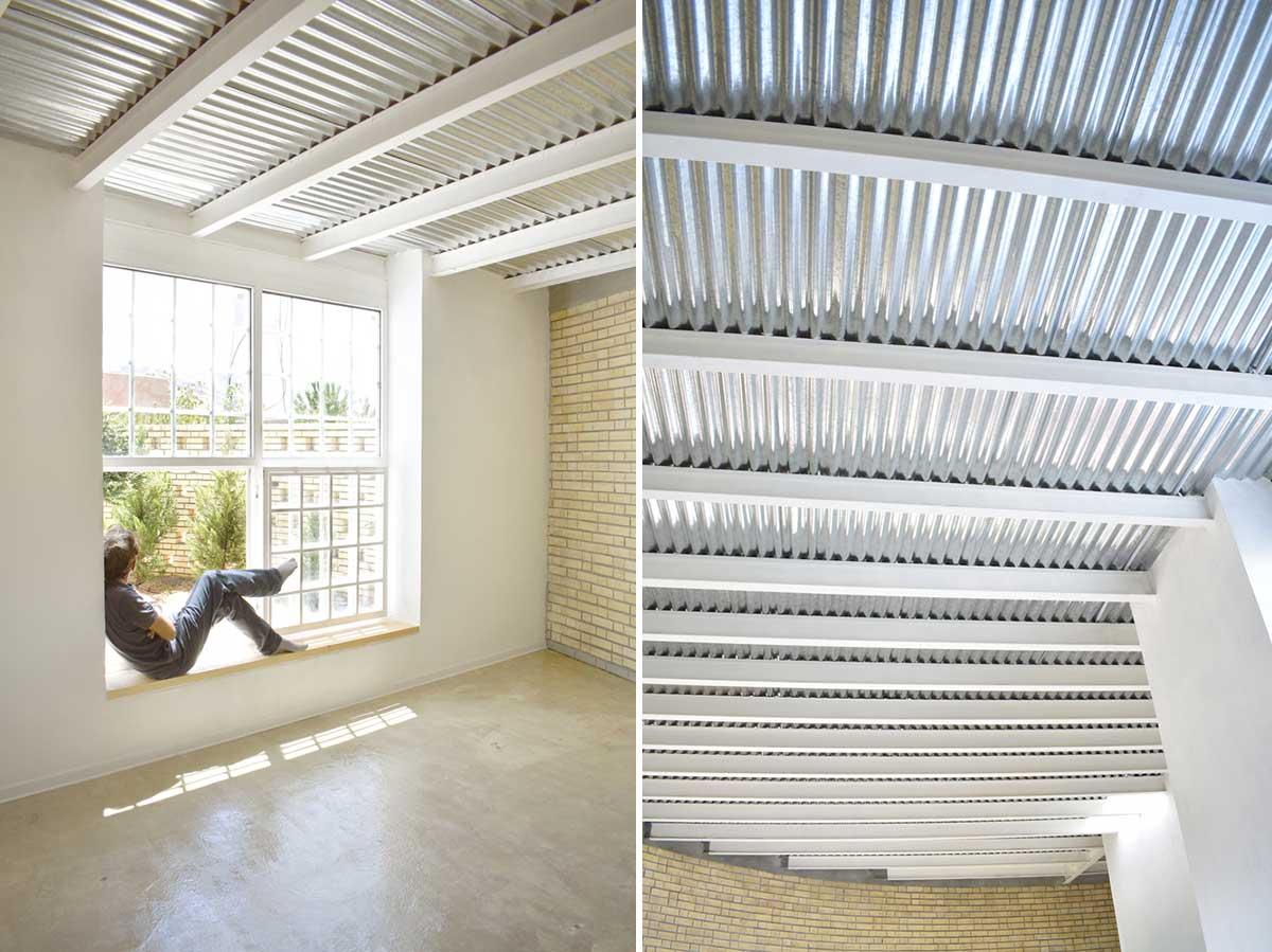 سازه سقف فلزی