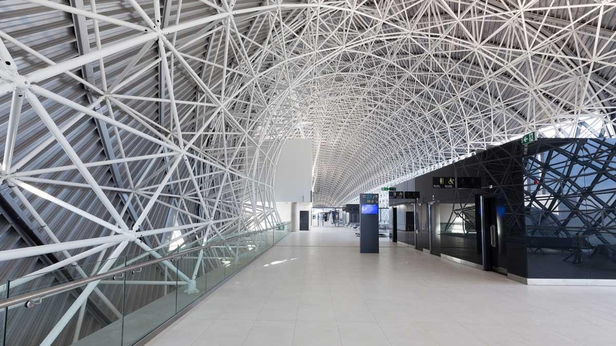 طراحی سالن انتظار فرودگاه