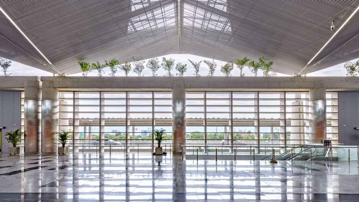 طراحی سالن فرودگاه