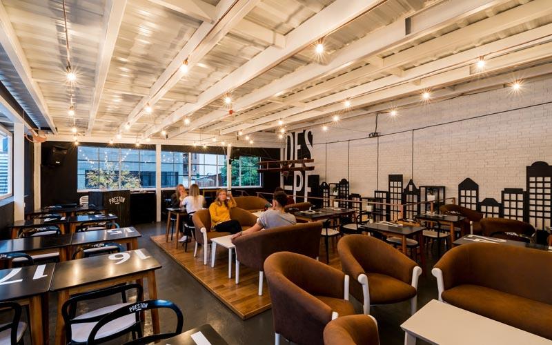 پلان کافه و رستوران