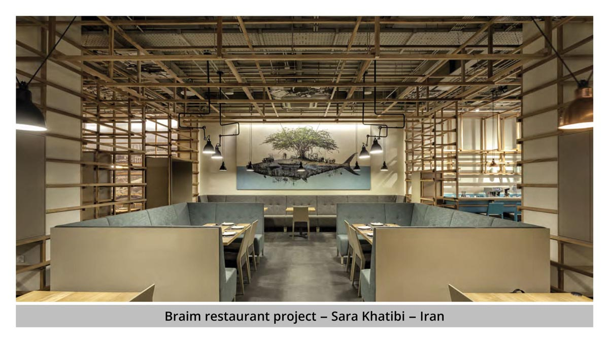 پروژه رستوارن Braim