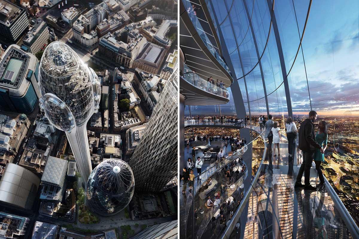 بلندترین برج لندن