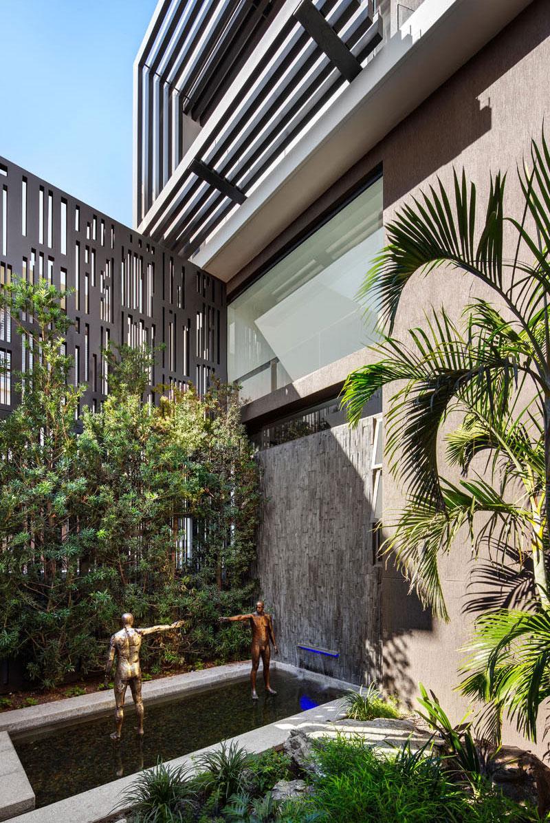 طراحی حیاط منزل