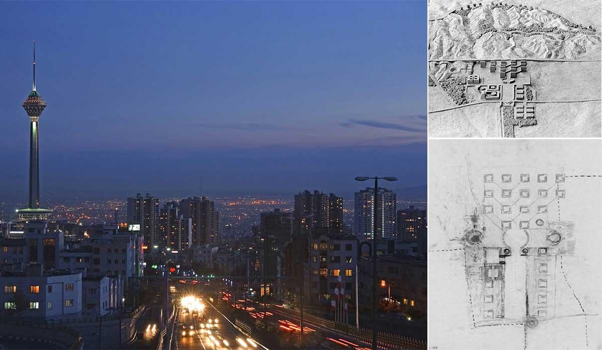 طراحی شهر تهران