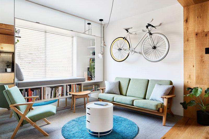 طراحی داخلی نشیمن آپارتمان