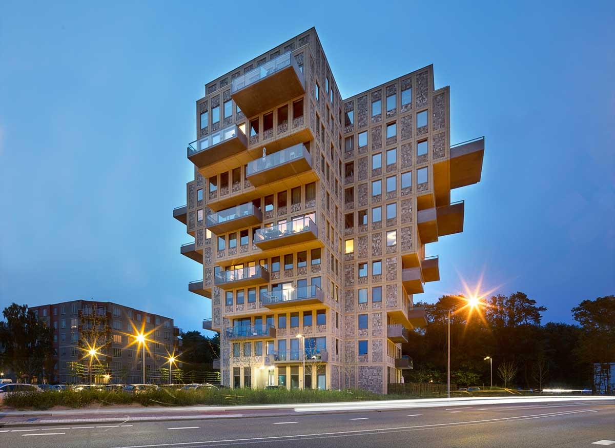 طراحی برج مسکونی