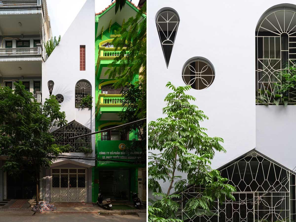 طراحی ساختمان مسکونی سه طبقه