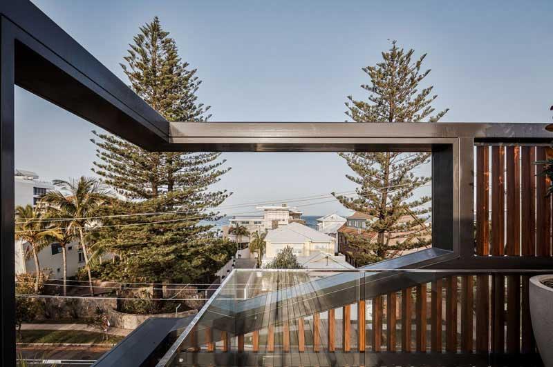 طراحی تراس ساختمان