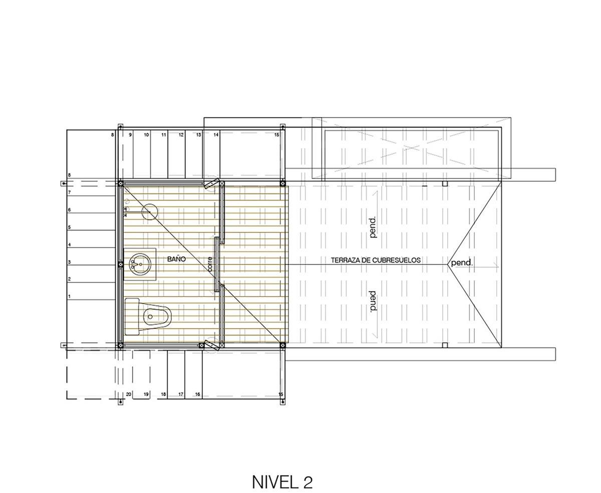 طراحی پلان کلبه