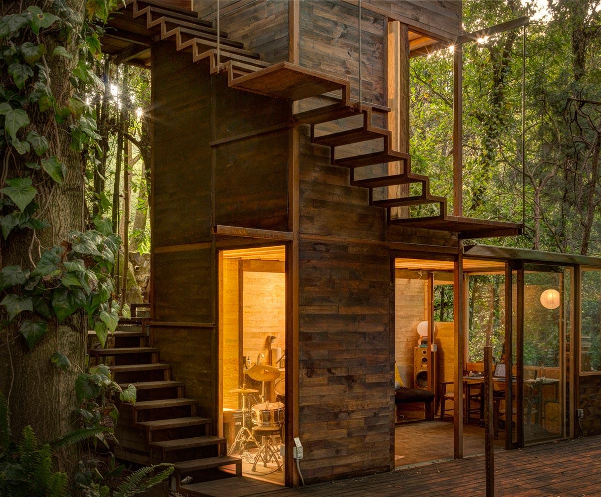 طراحی کلبه جنگلی