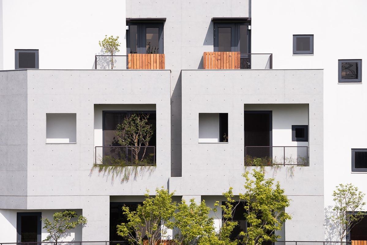طراحی نمای بیرونی light house