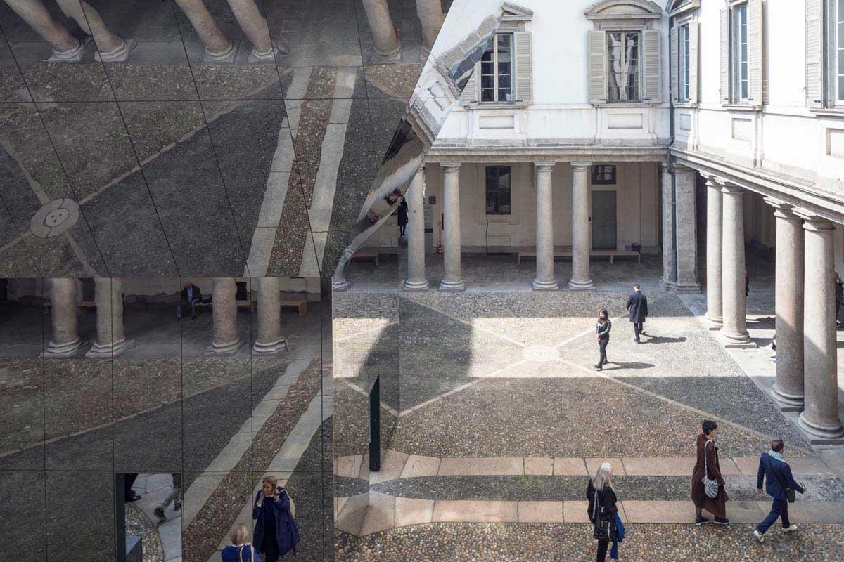 طراحی پاولیون در طراحی مد میلان