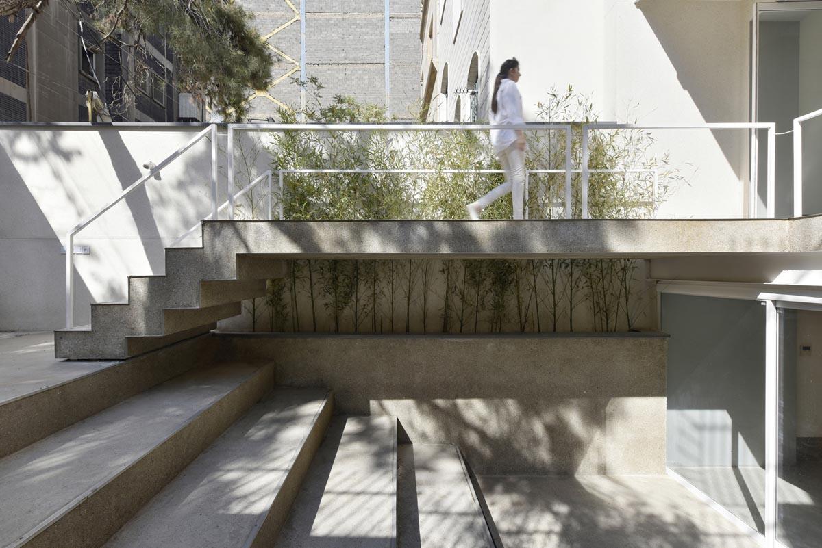 معماری و طراحی داخلی گالری ژی -تهران