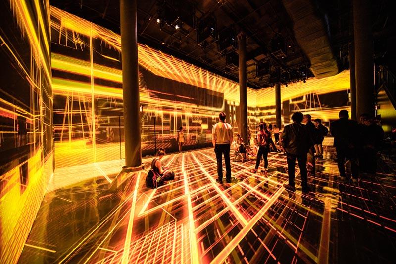 طراحی معماری نمایشگاه هنری