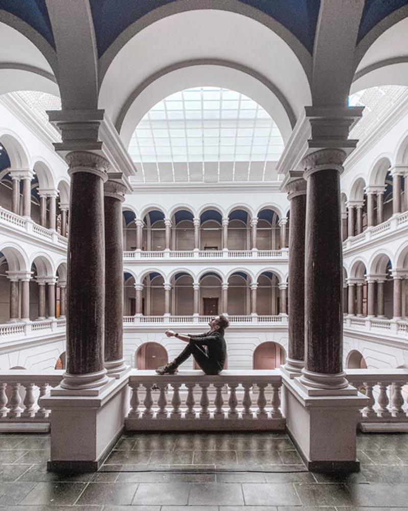 عکاسی معماری با موبایل