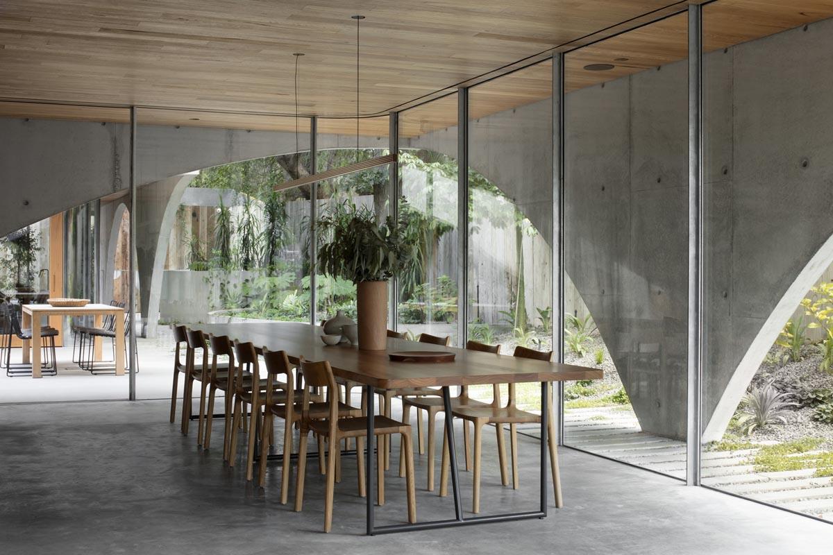 20 پروژه منحصر به فرد از ترکیب چوب و بتن