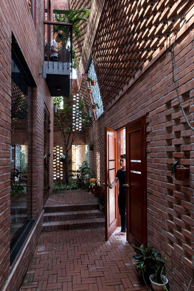 طراحی معماری با آجر
