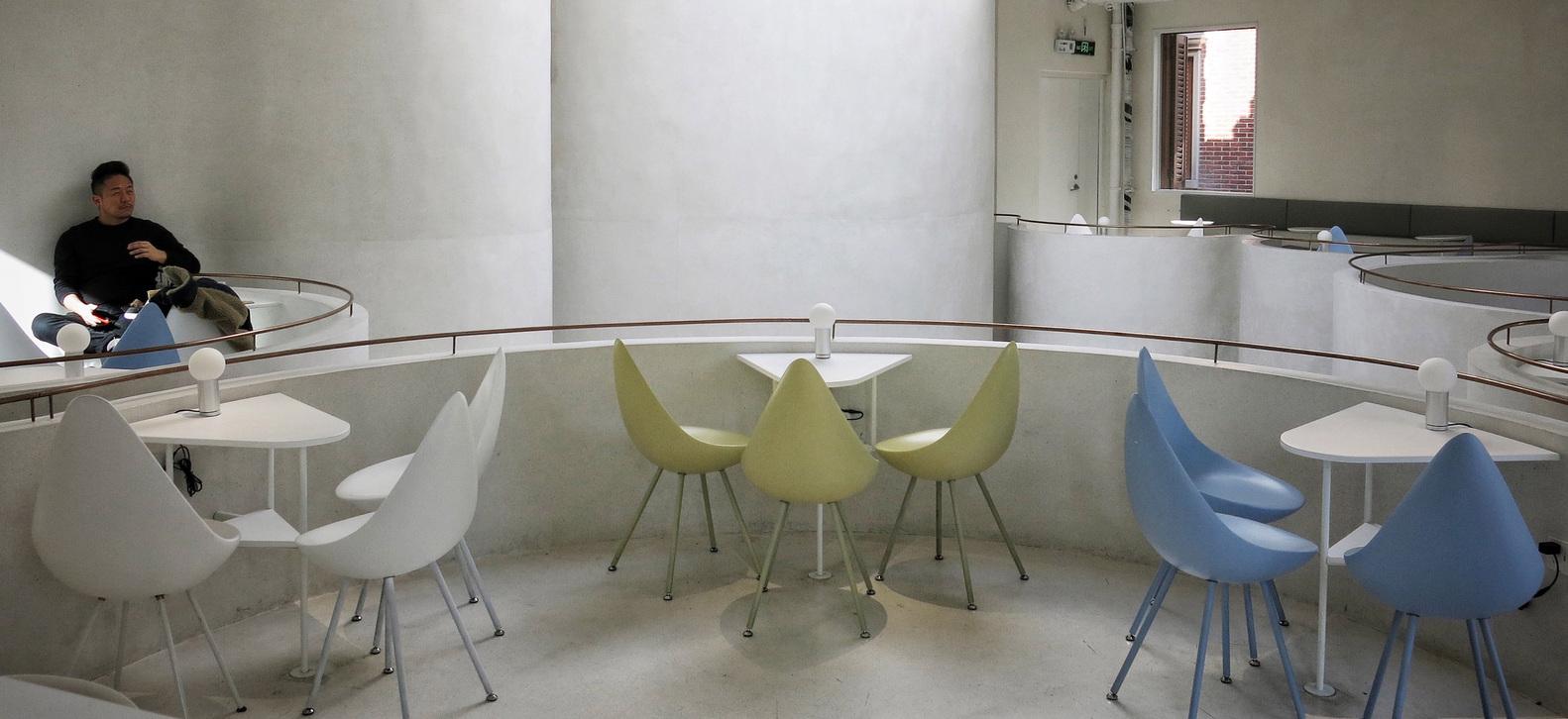 طراحی داخلی کافه ای متفاوت در چین