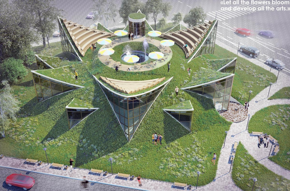 معماری دانشکده هنر