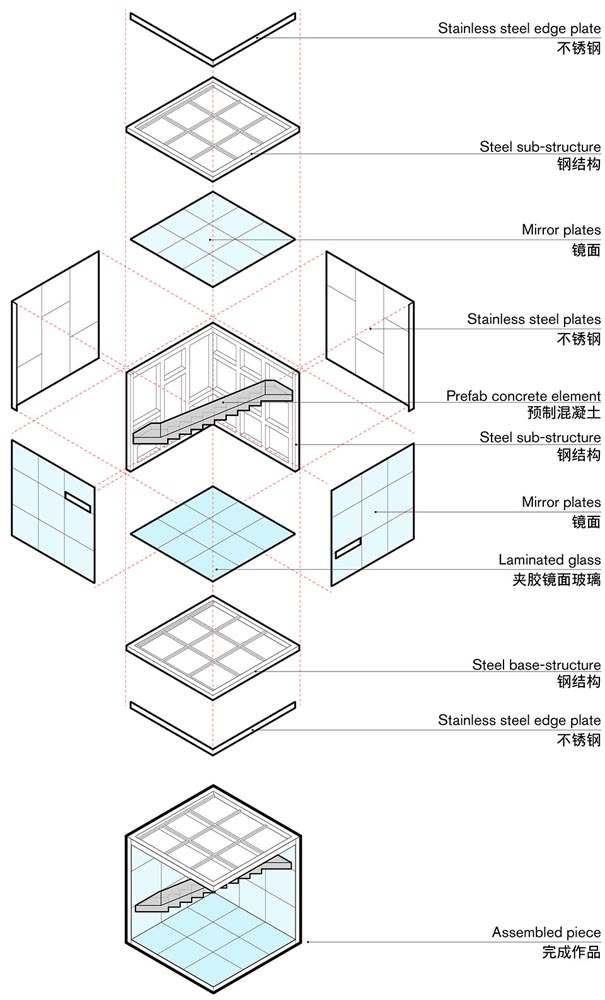 طراحی اینستالیشن معماری