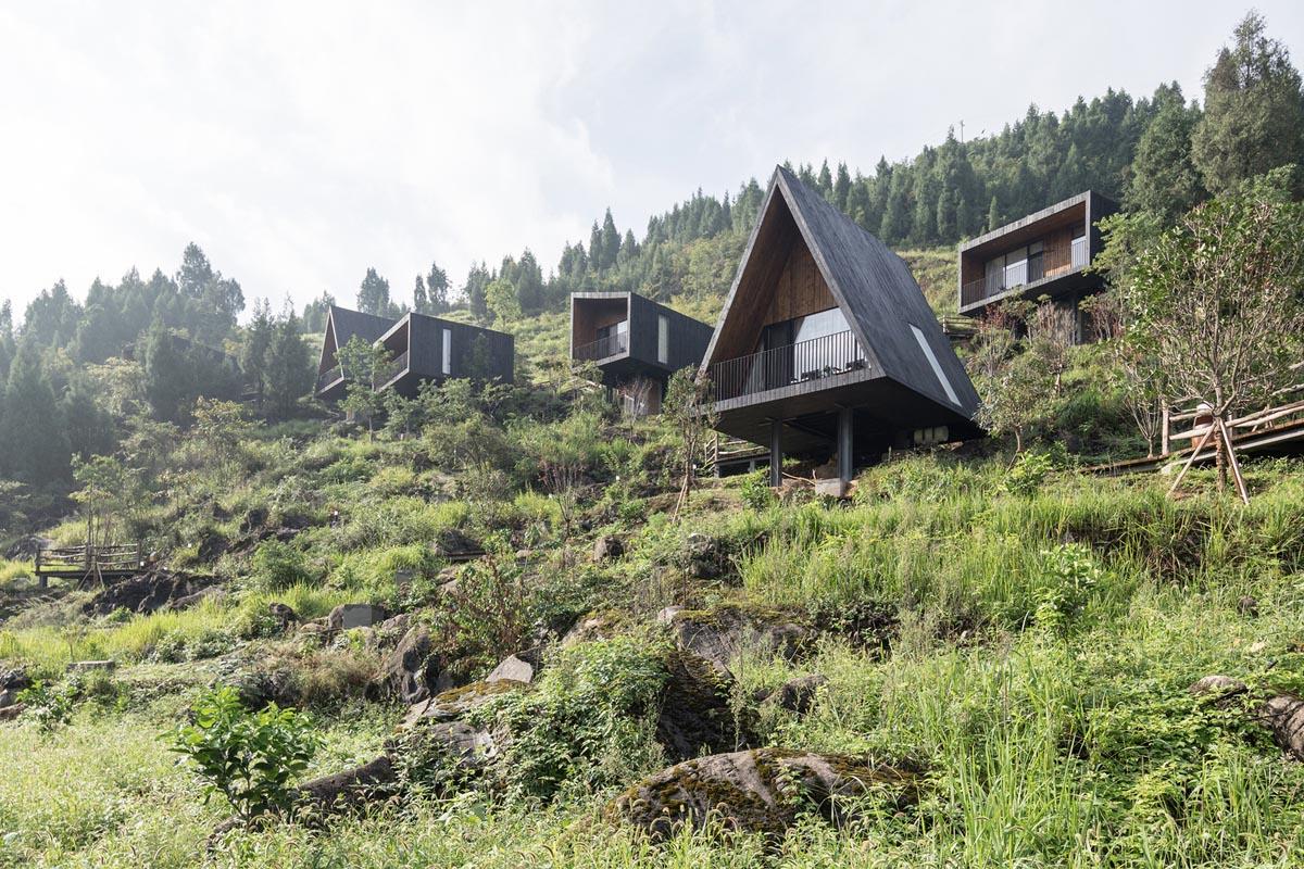 هتل و اقامتگاه کابینی همگن با طبیعت