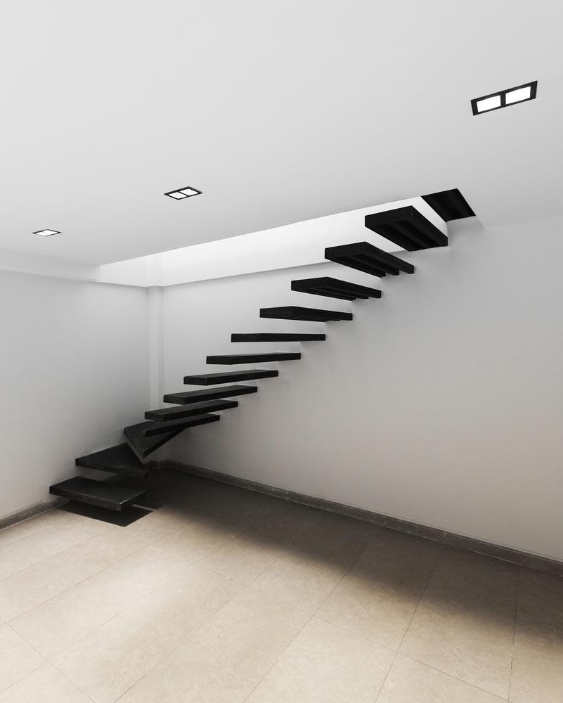 طراحی پله مدرن