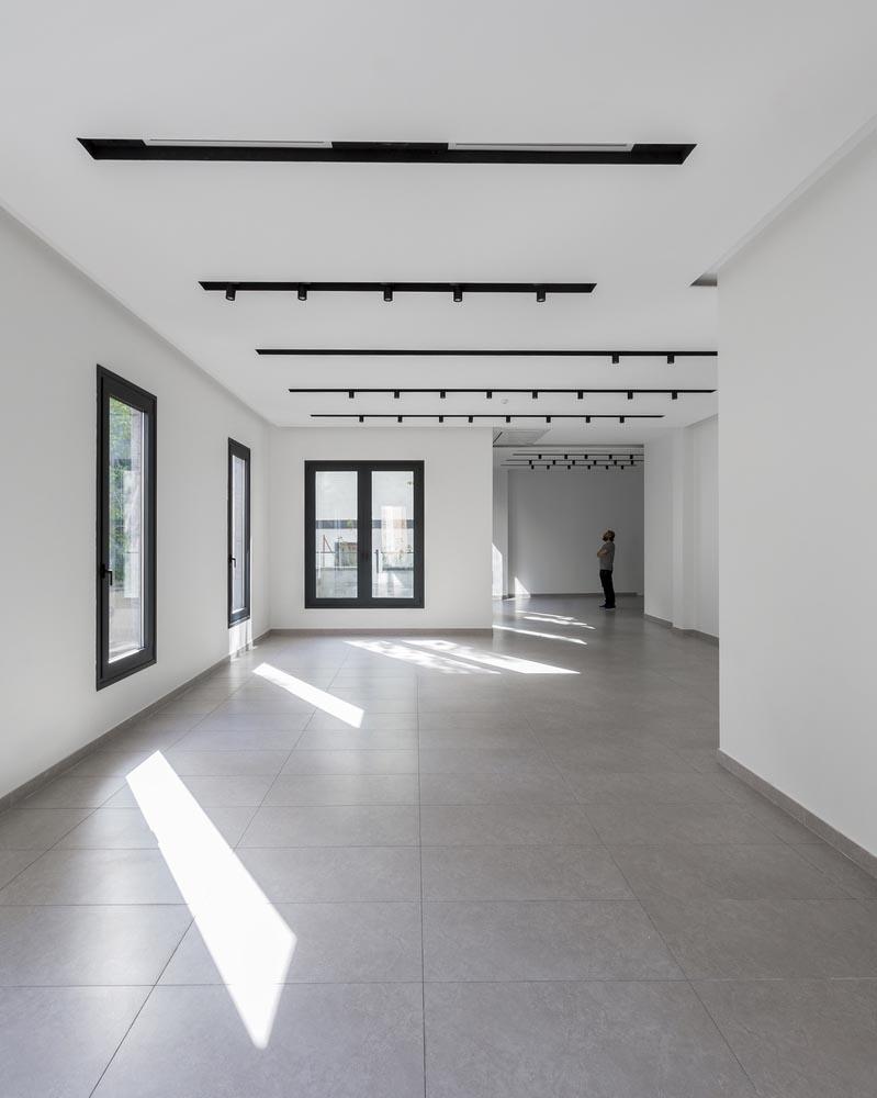 معماری داخلی ساختمان صبا