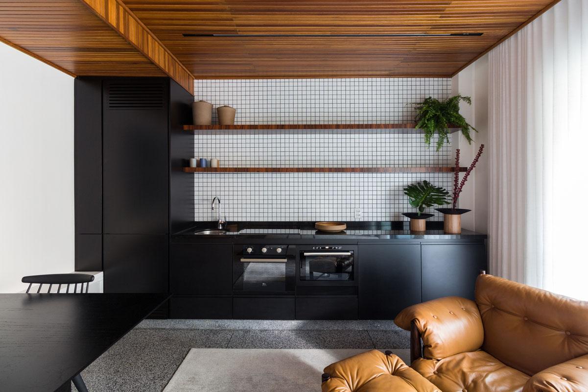 آپارتمانهای برزیلی کوچک - 24 تا 48 متر مربع