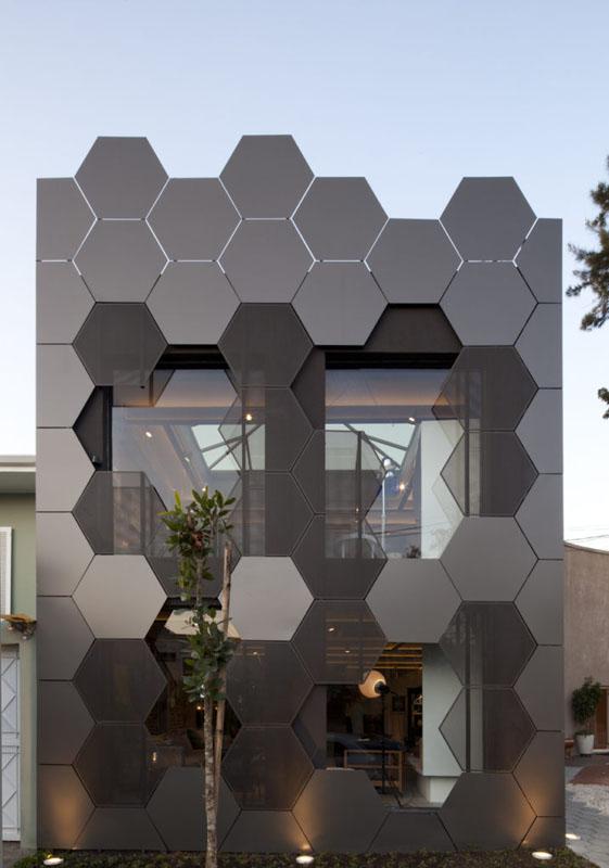 طراحی نمای ساختمان در شیراز