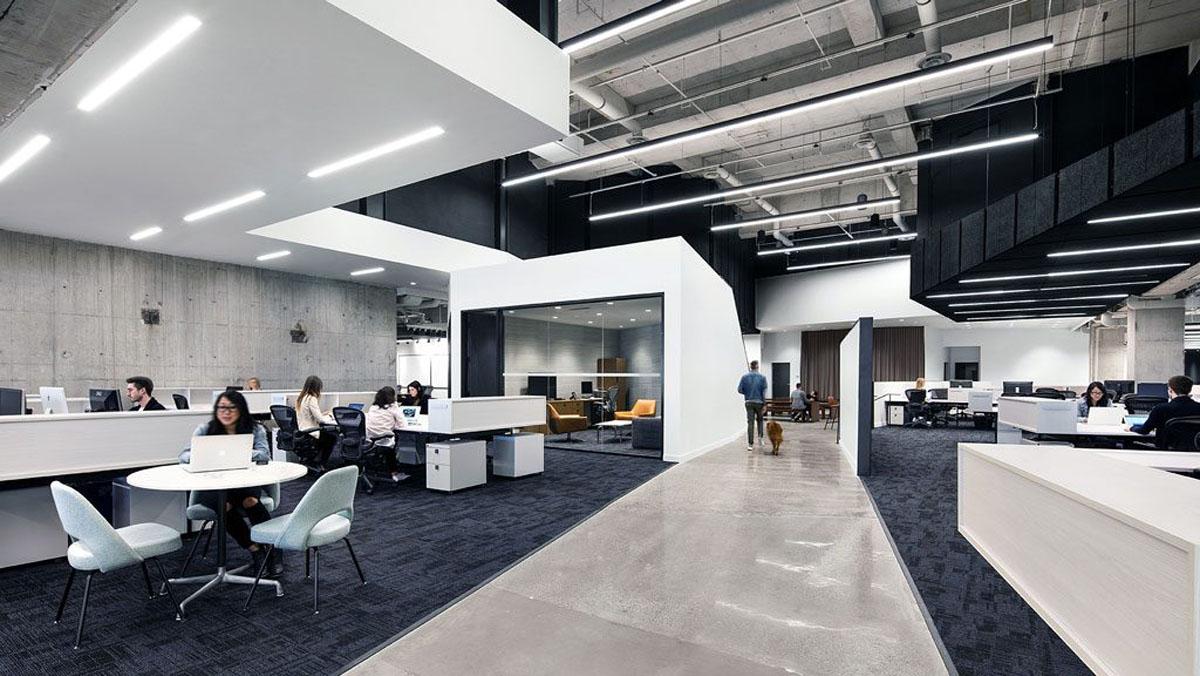 6  ترند طراحی ادارات و دفاتر کار آینده بعد از  Covid-19