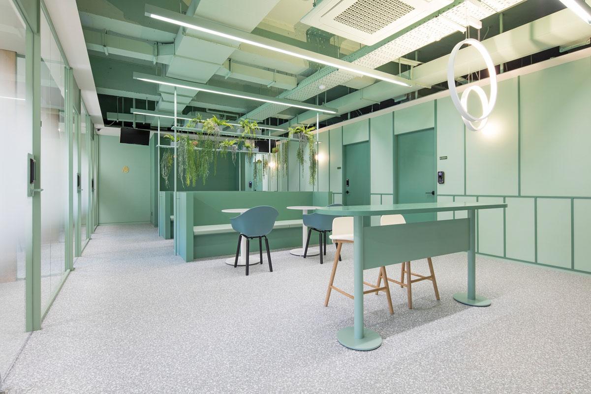 طراحی داخلی دفتر کار شرکت  کشاورزی و محصولات دامی