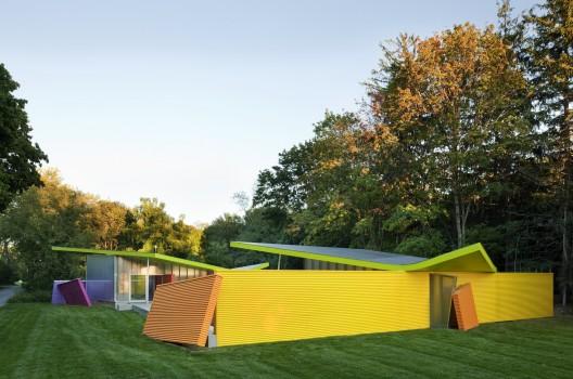 گروه بیگ ، معماری ، Shelter ، عمارتی در جزیره ، بیگ